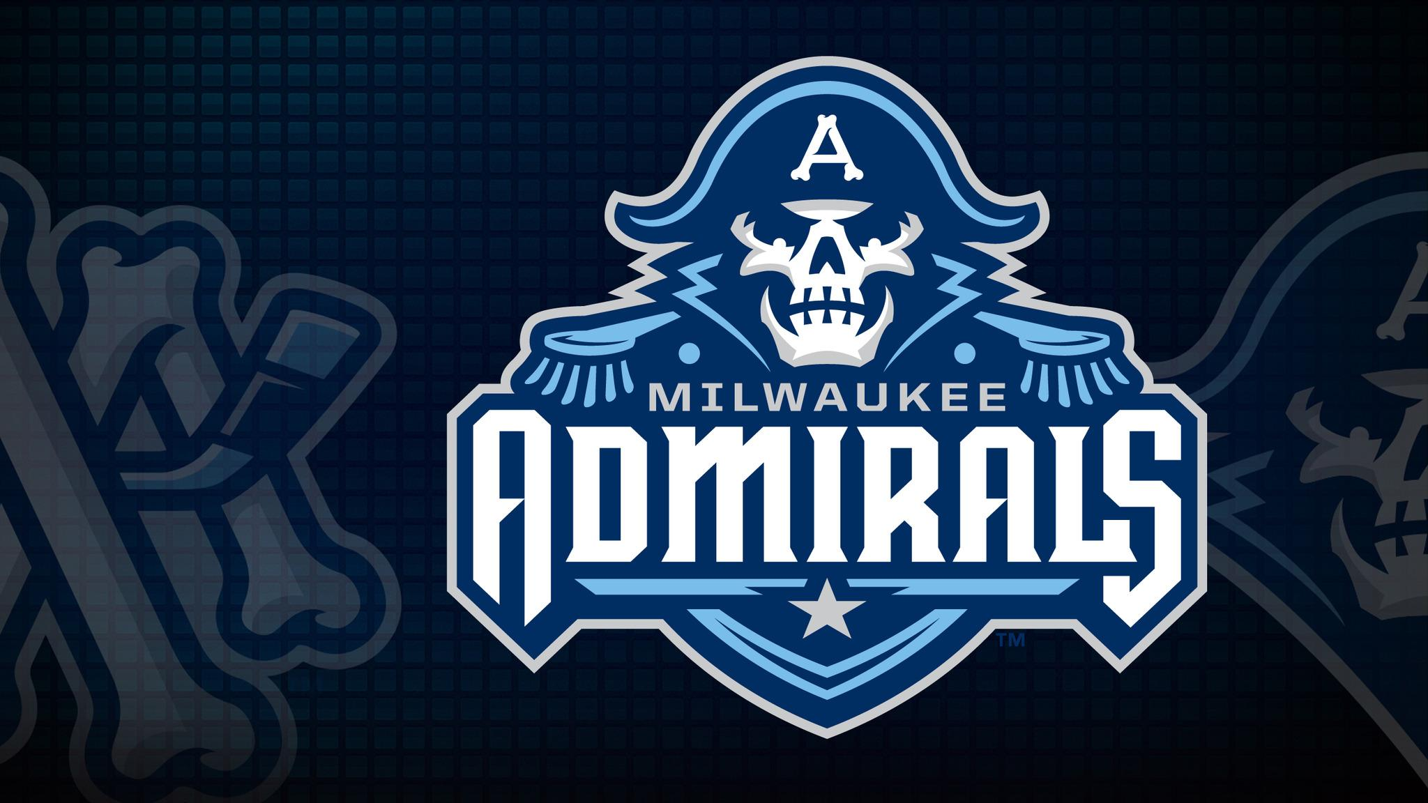 Milwaukee Admirals vs. Grand Rapids Griffins