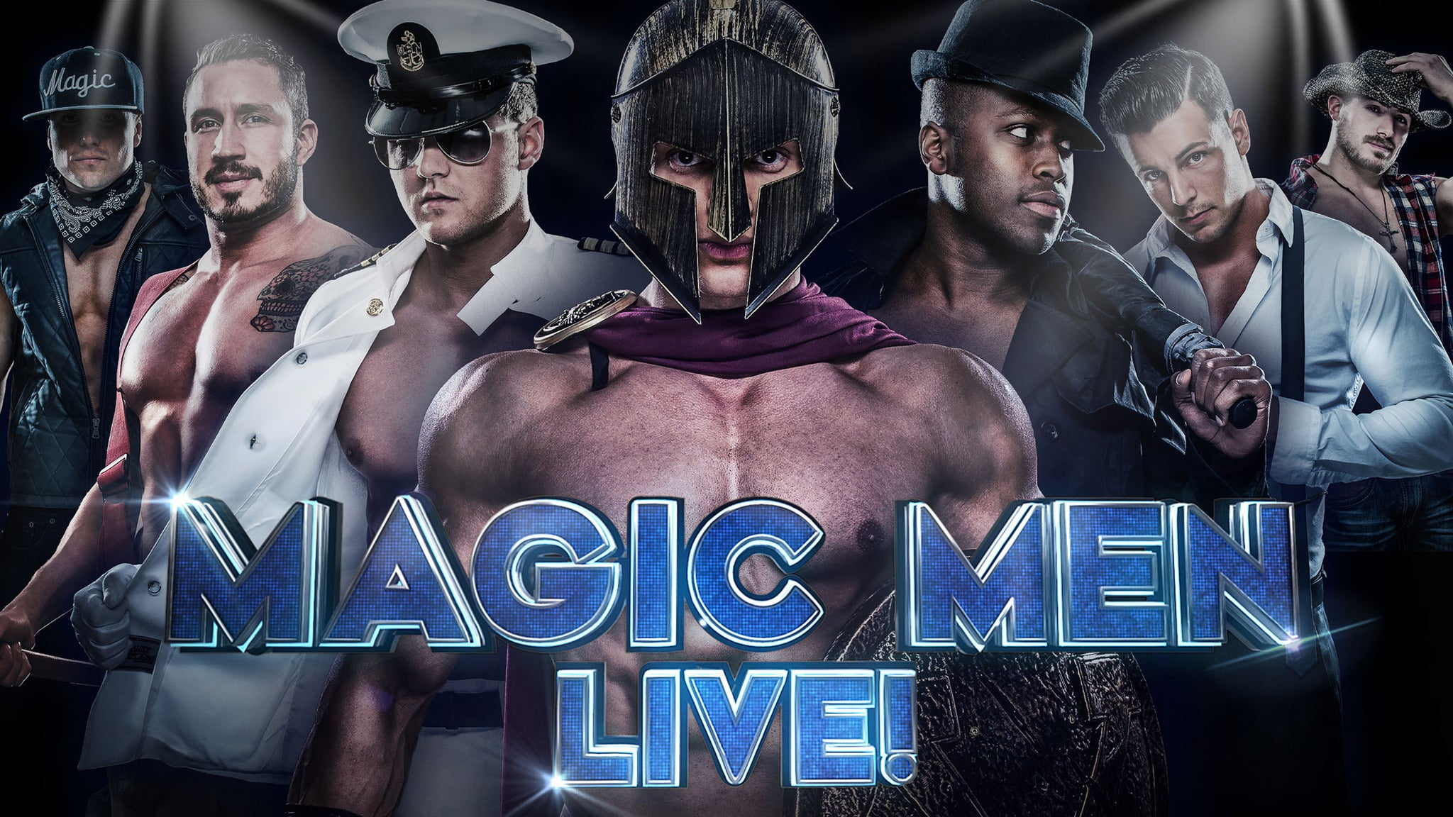 Magic Men LIVE! at Egyptian Room at Old National Centre