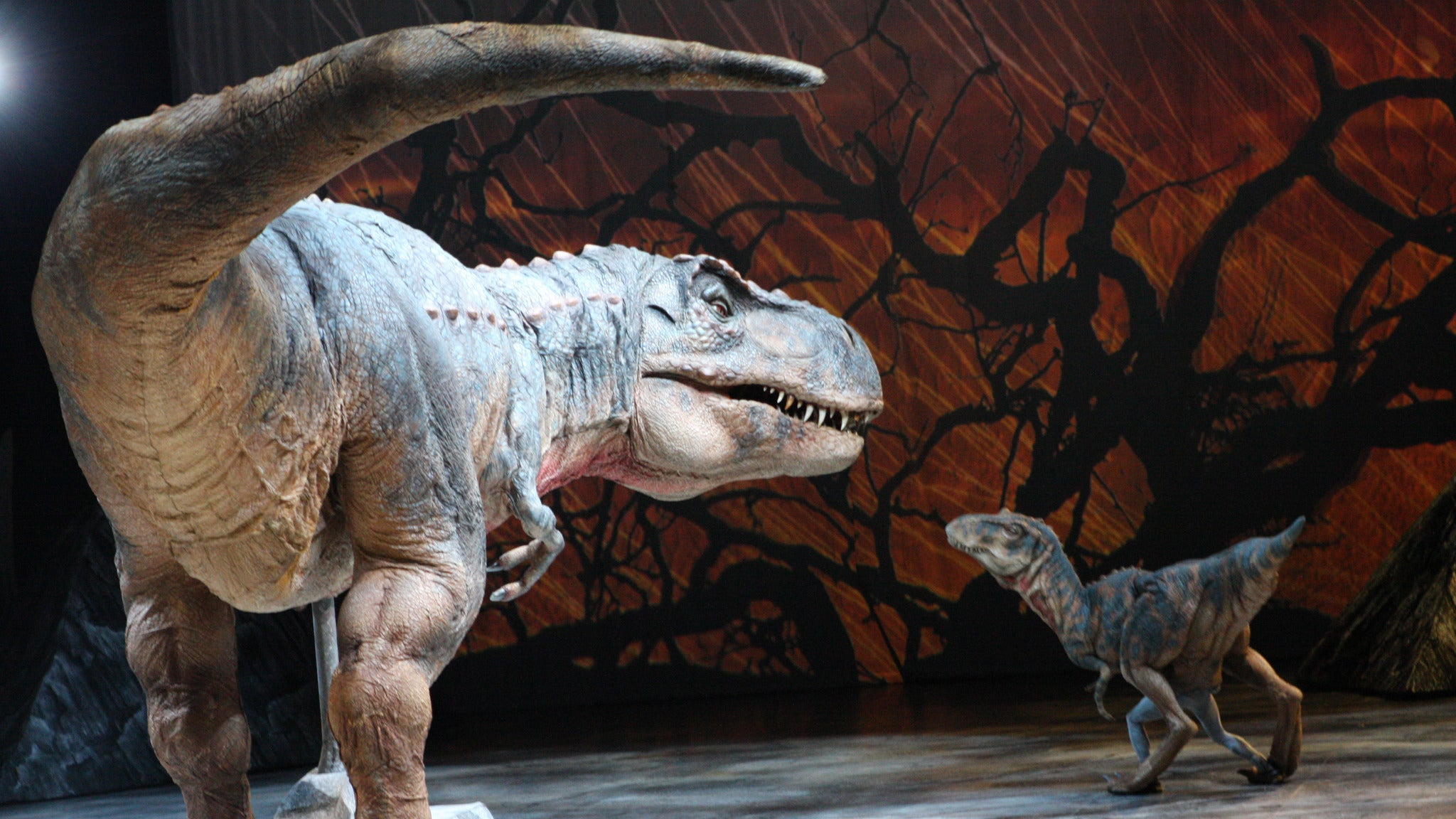 foto ticket Walking with Dinosaurs