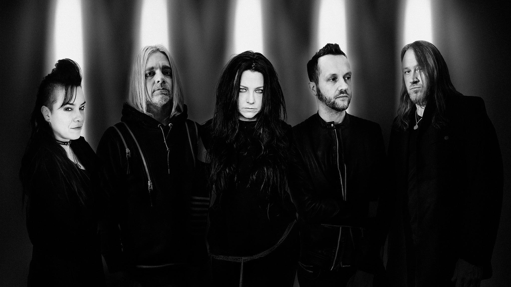 Evanescence + Halestorm at Prudential Center - Newark, NJ 07102