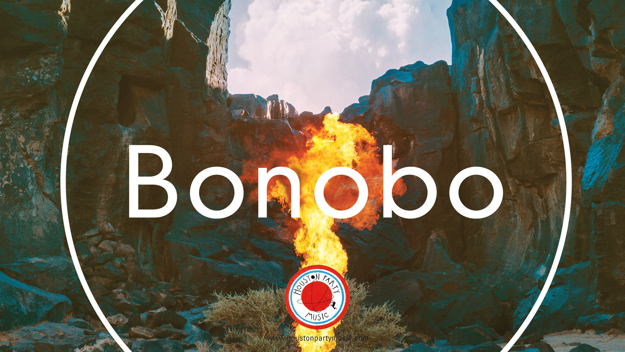 Bonobo with Tourist at Observatory North Park