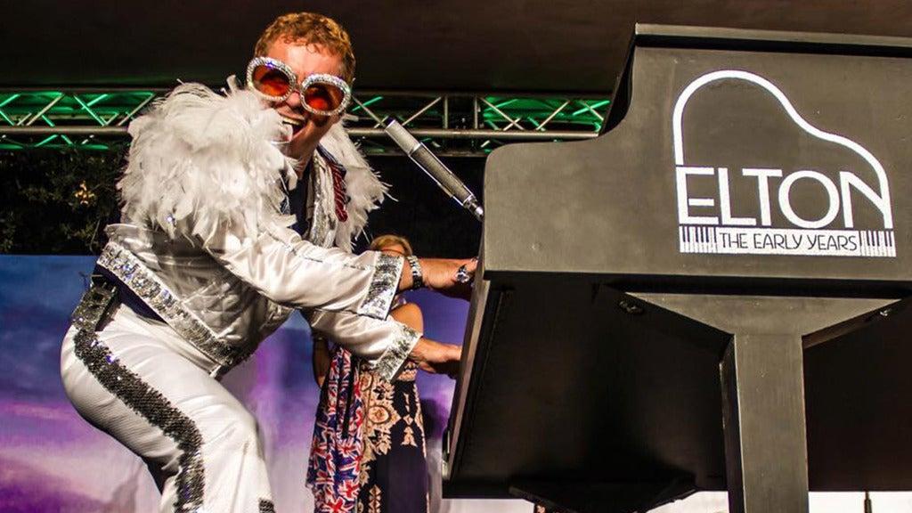 Kenny Metcalf As Elton & The K-tel Allstars