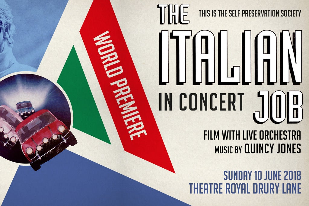 Italian Job - Film with Orchestra Bridgewater Hall Seating Plan