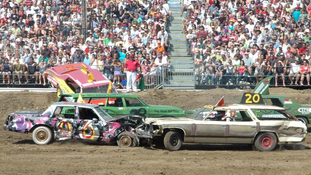 Orange Crush Demolition Derby