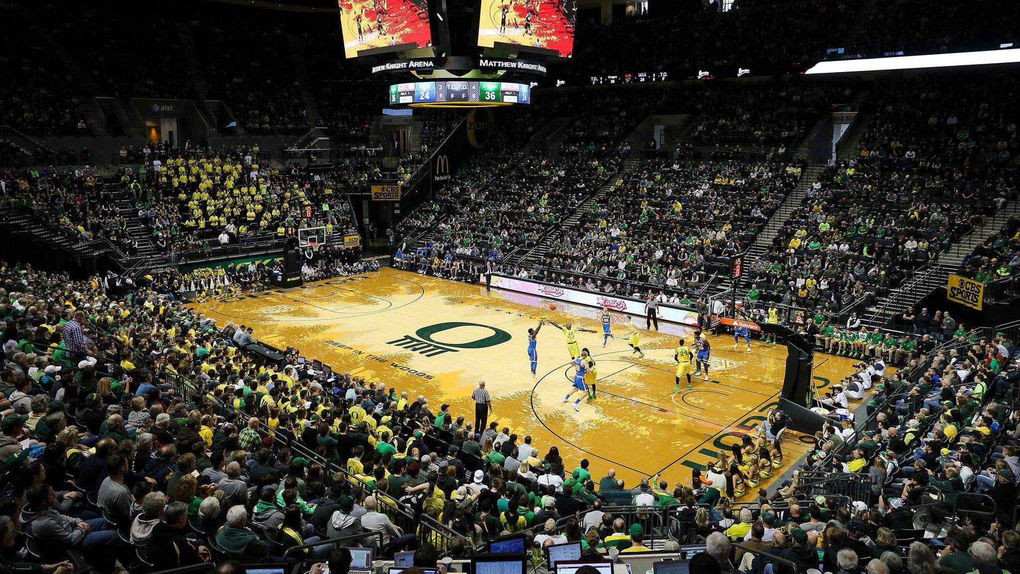 Oregon Ducks Men's Basketball vs. UCLA Bruins Men's Basketball