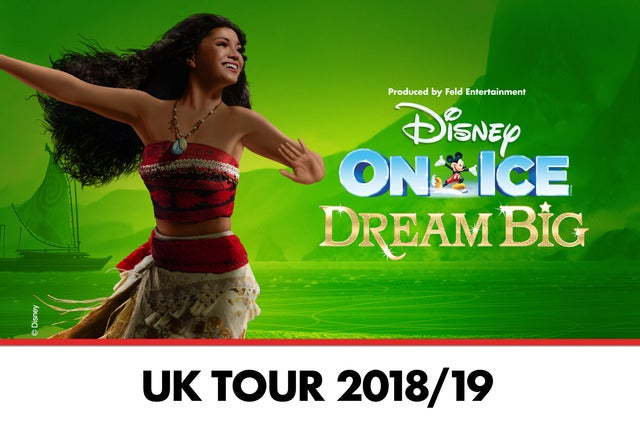 Disney On Ice presents Dream Big The O2 Arena Seating Plan