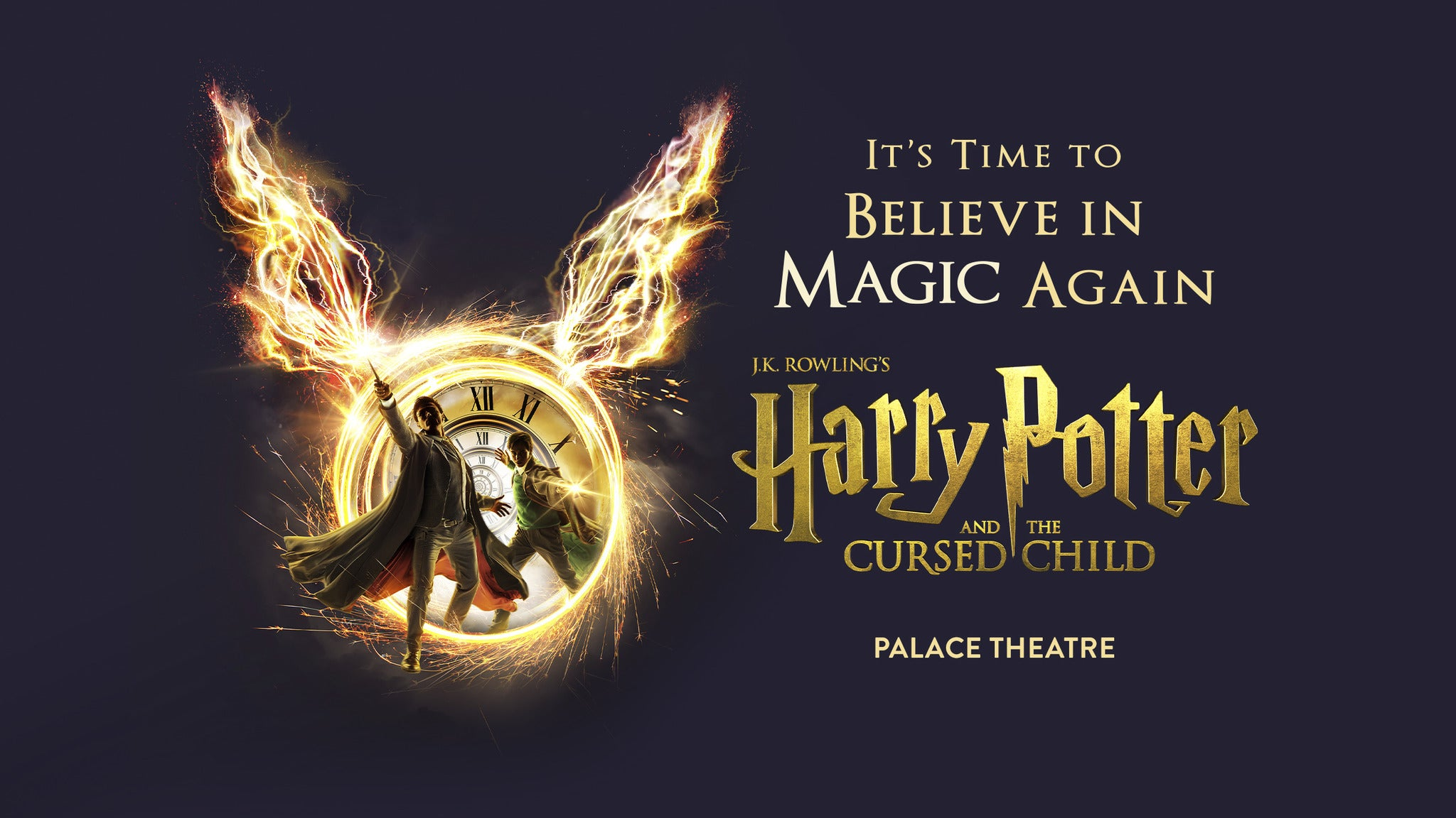Harry Potter and the Cursed Child - Parts 1 & 2 Thu & Fri 19:00 Event Title Pic