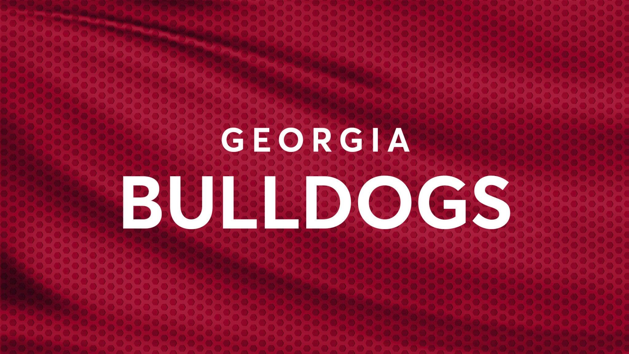 Georgia Bulldogs Womens Basketball
