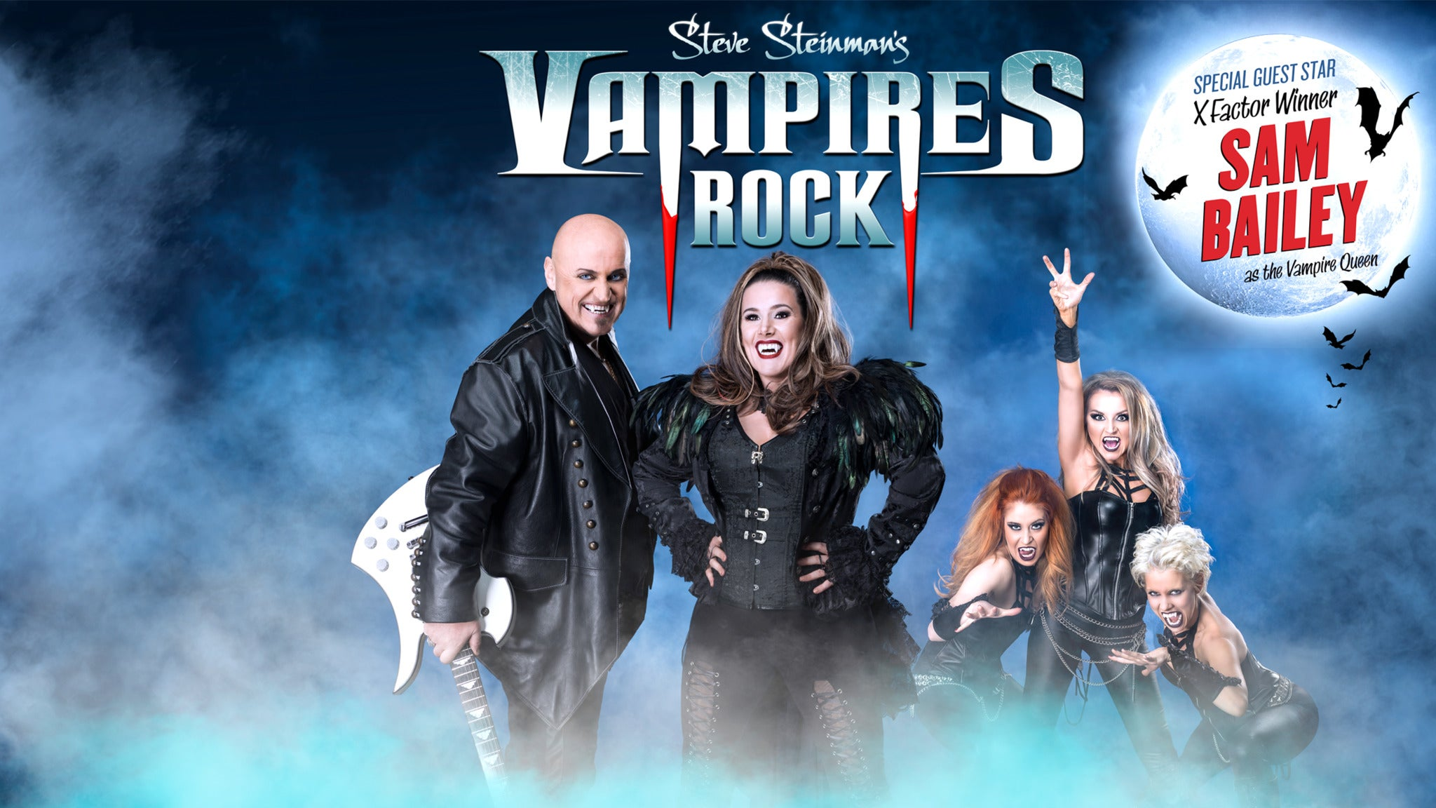 foto ticket Steve Steinman's Vampires Rock with Special Guest Sam Bailey