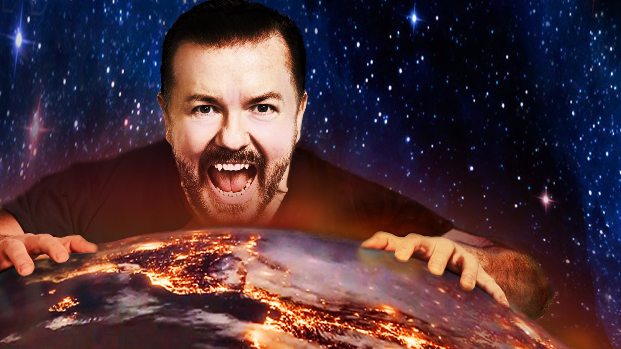 Ricky Gervais - Supernature Manchester Apollo Seating Plan