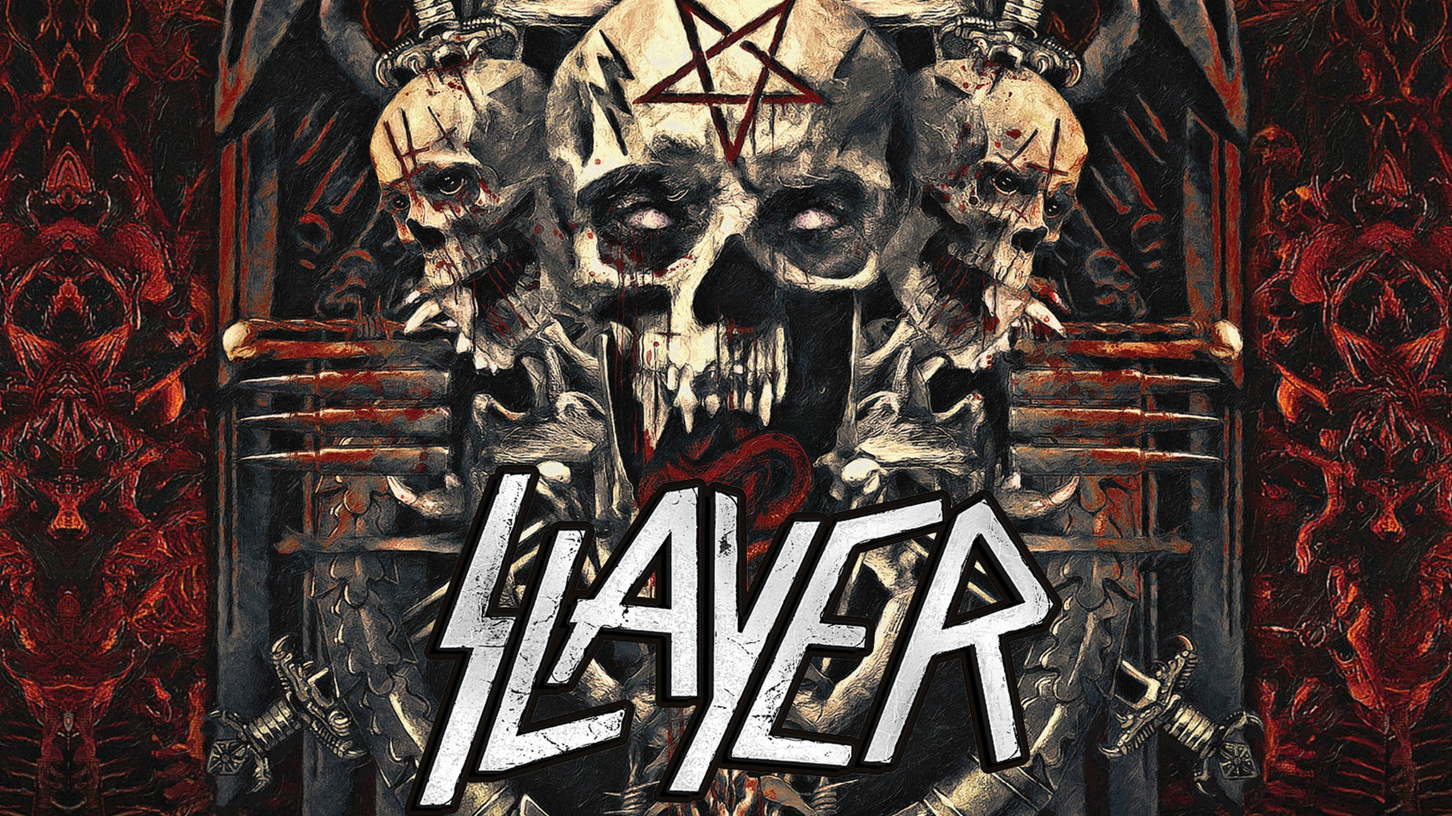 Slayer at Michigan Lottery Amphitheatre at Freedom Hill