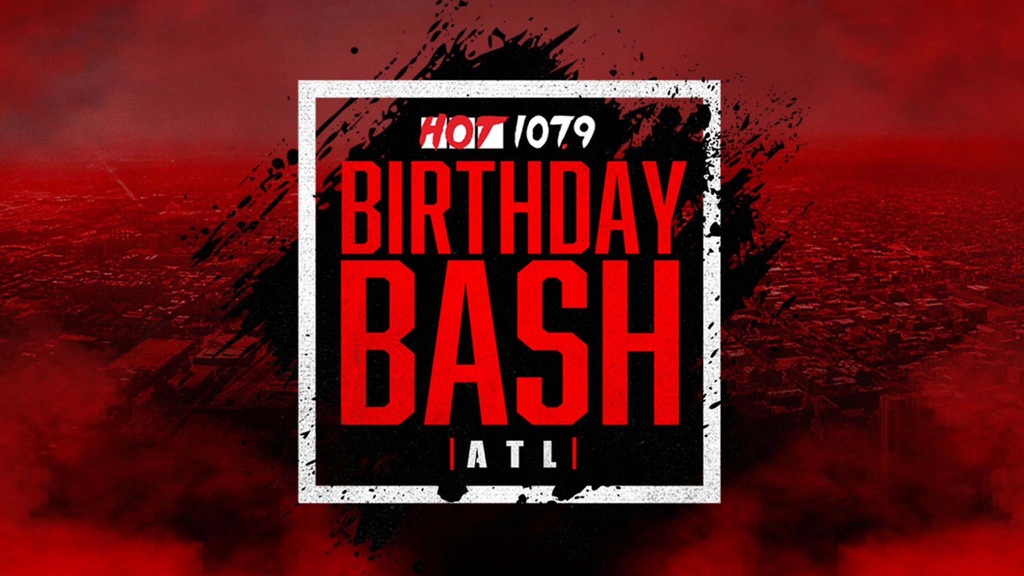 Hot 107.9 Birthday Bash 25 at State Farm Arena