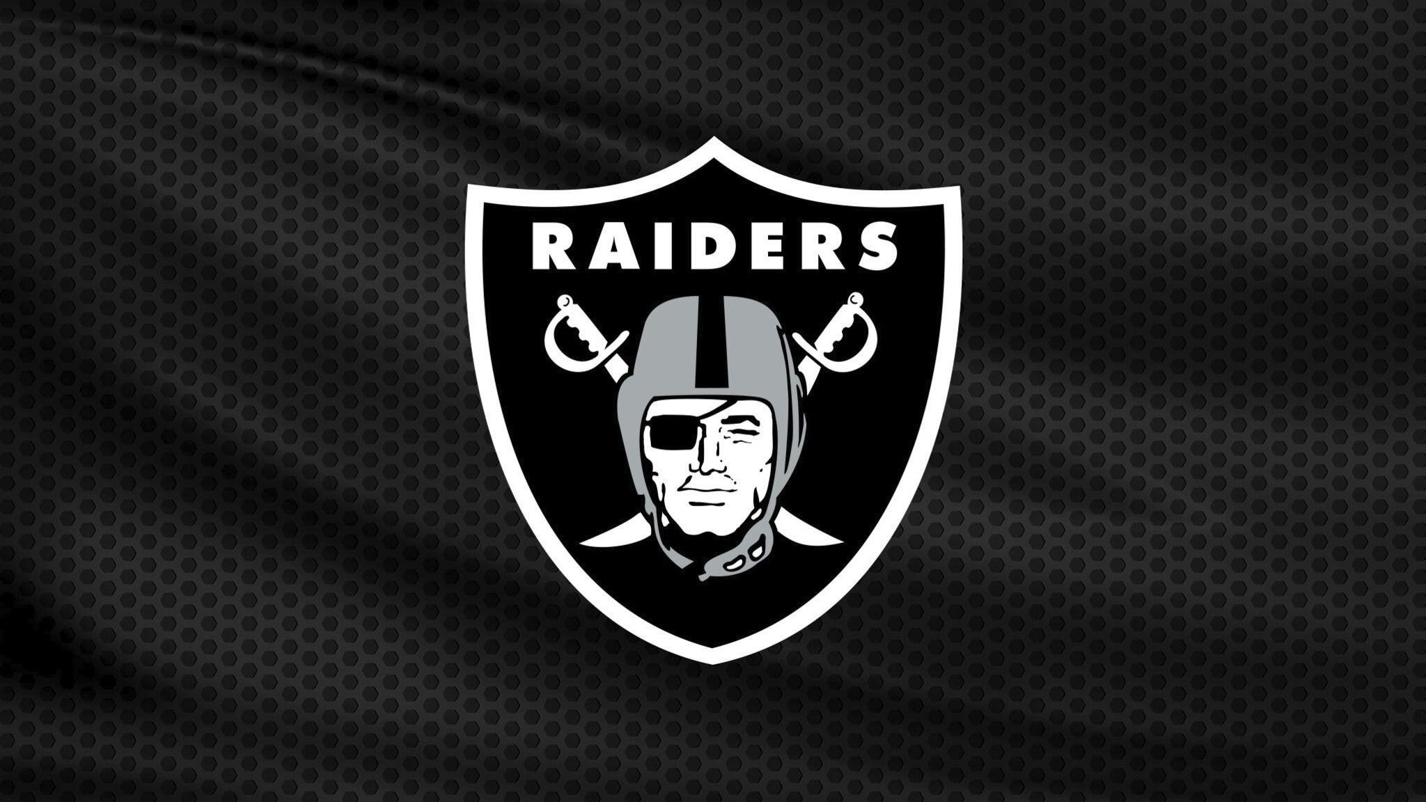 Las Vegas Raiders vs. Tampa Bay Buccaneers