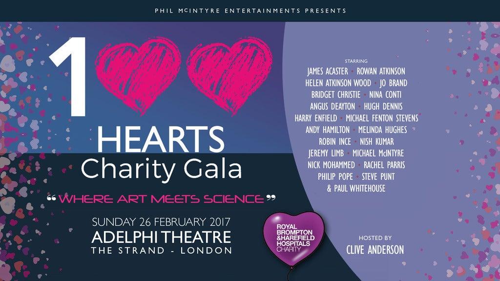 100 Hearts live