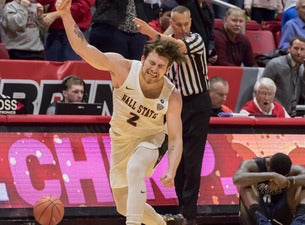 Central Michigan Chippewas Mens Basketball at Ball State Cardinals Mens Basketball