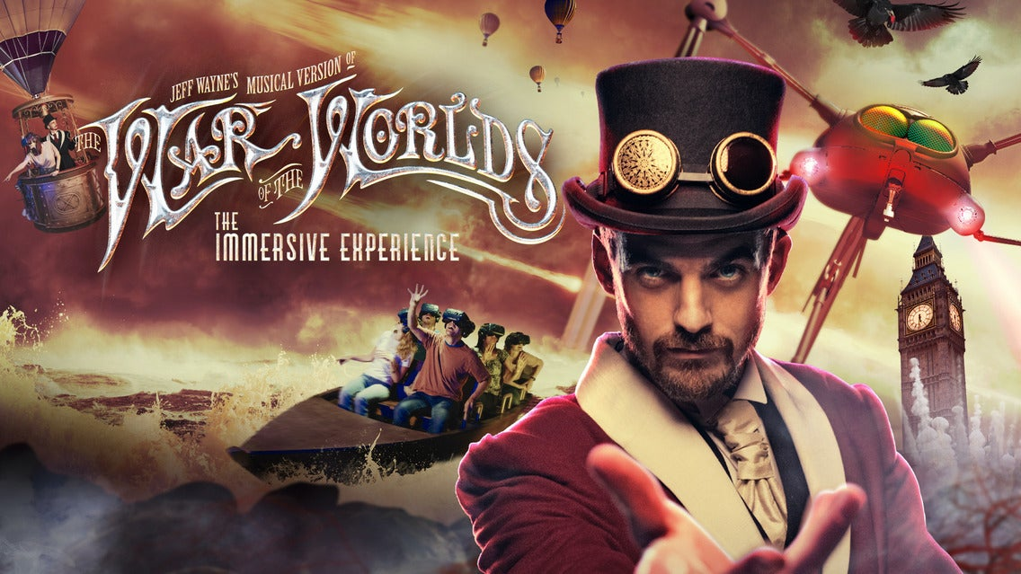 Jeff Wayne's TWoTW: The Immersive Experience Event Title Pic
