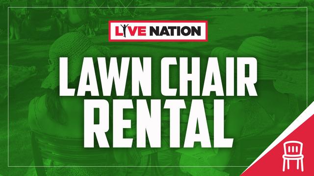 Darien Lake Amphitheater Lawn Chair Rental