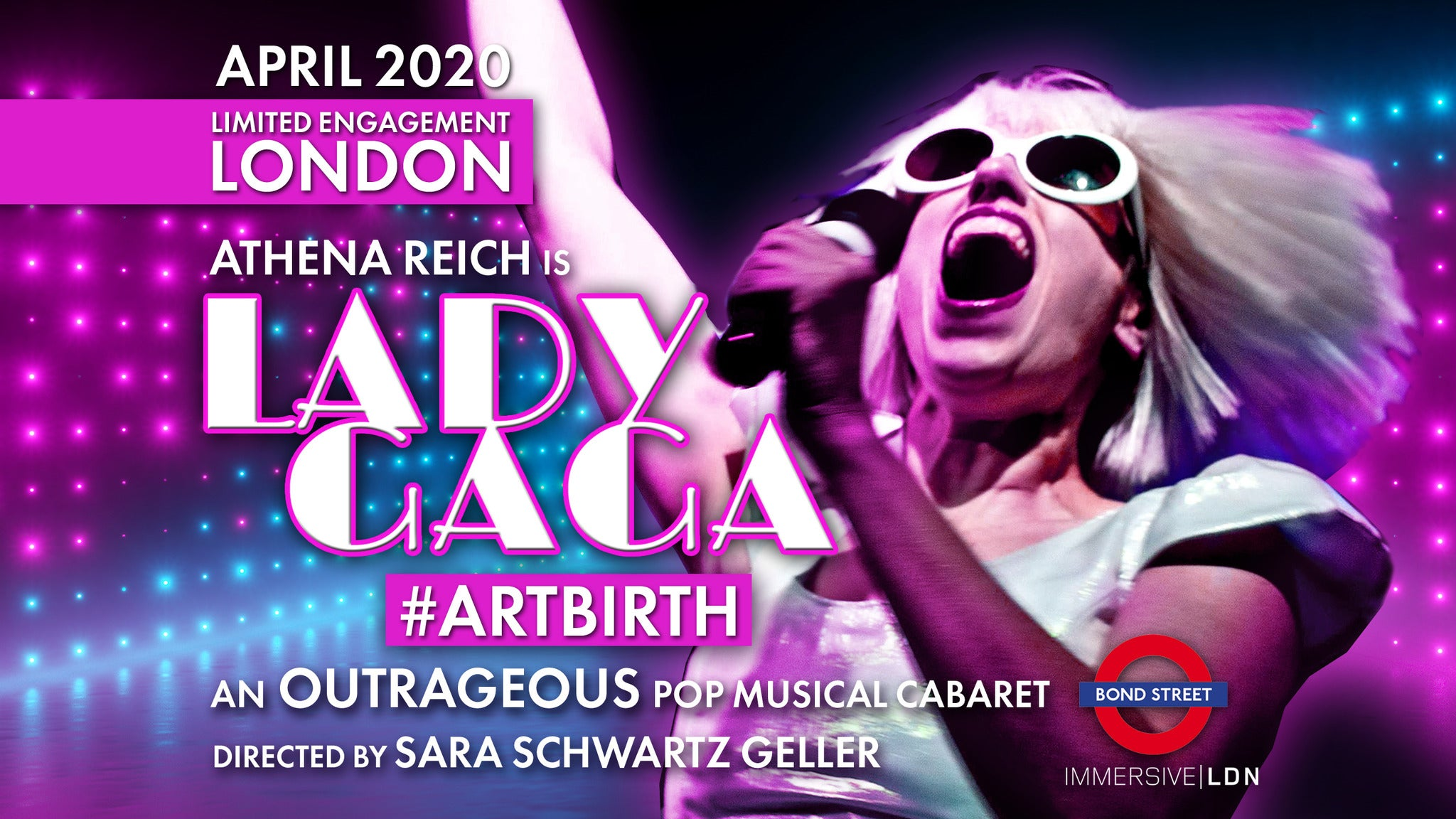 Artbirth - Lady Gaga Show Event Title Pic