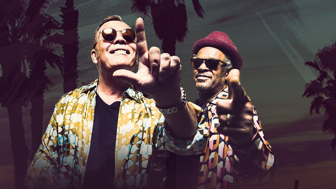 UB40 featuring Ali and Astro & Shaggy 40TH Anniversary Tour