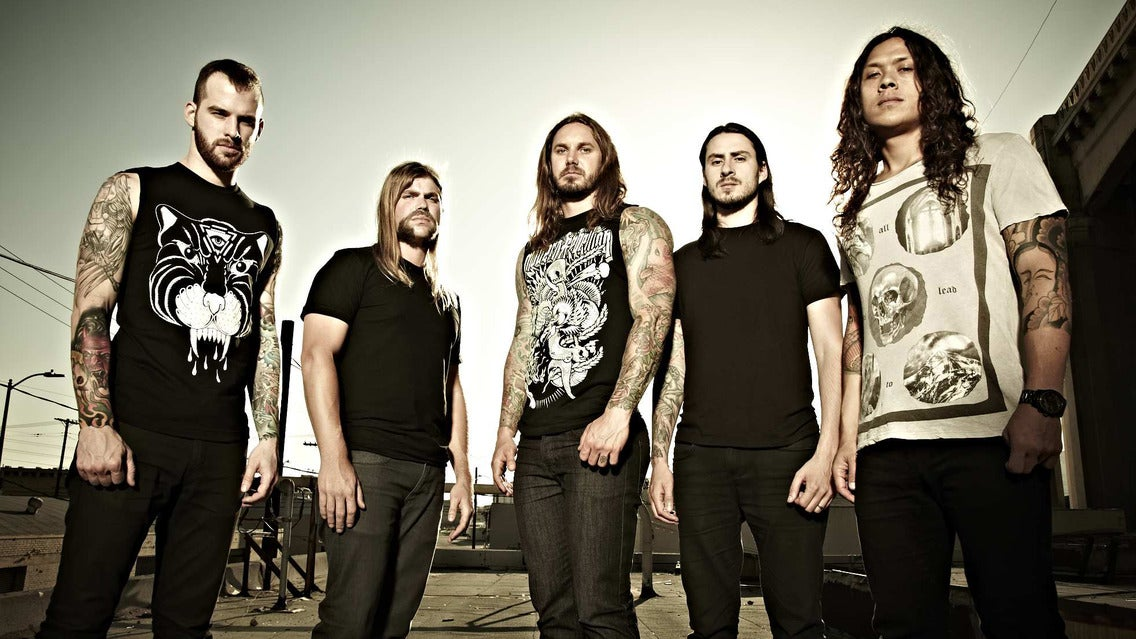 As I Lay Dying at Mesa Theatre & Club