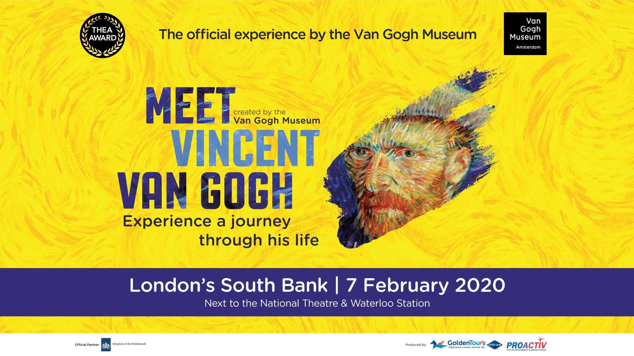 Meet Vincent Van Gogh Event Title Pic