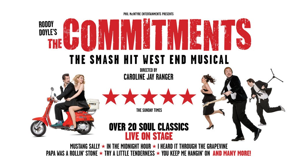 Hotels near The Commitments (Touring) Events