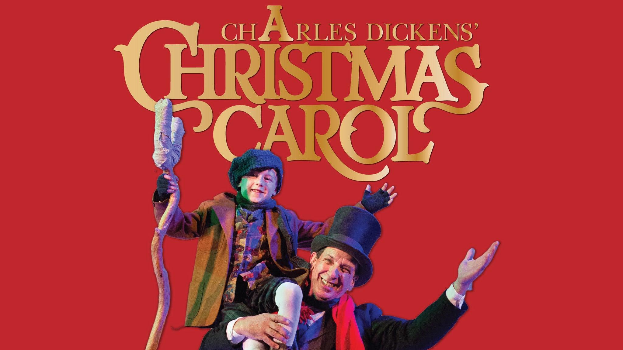 Walnut Street Theatre's a Christmas Carol