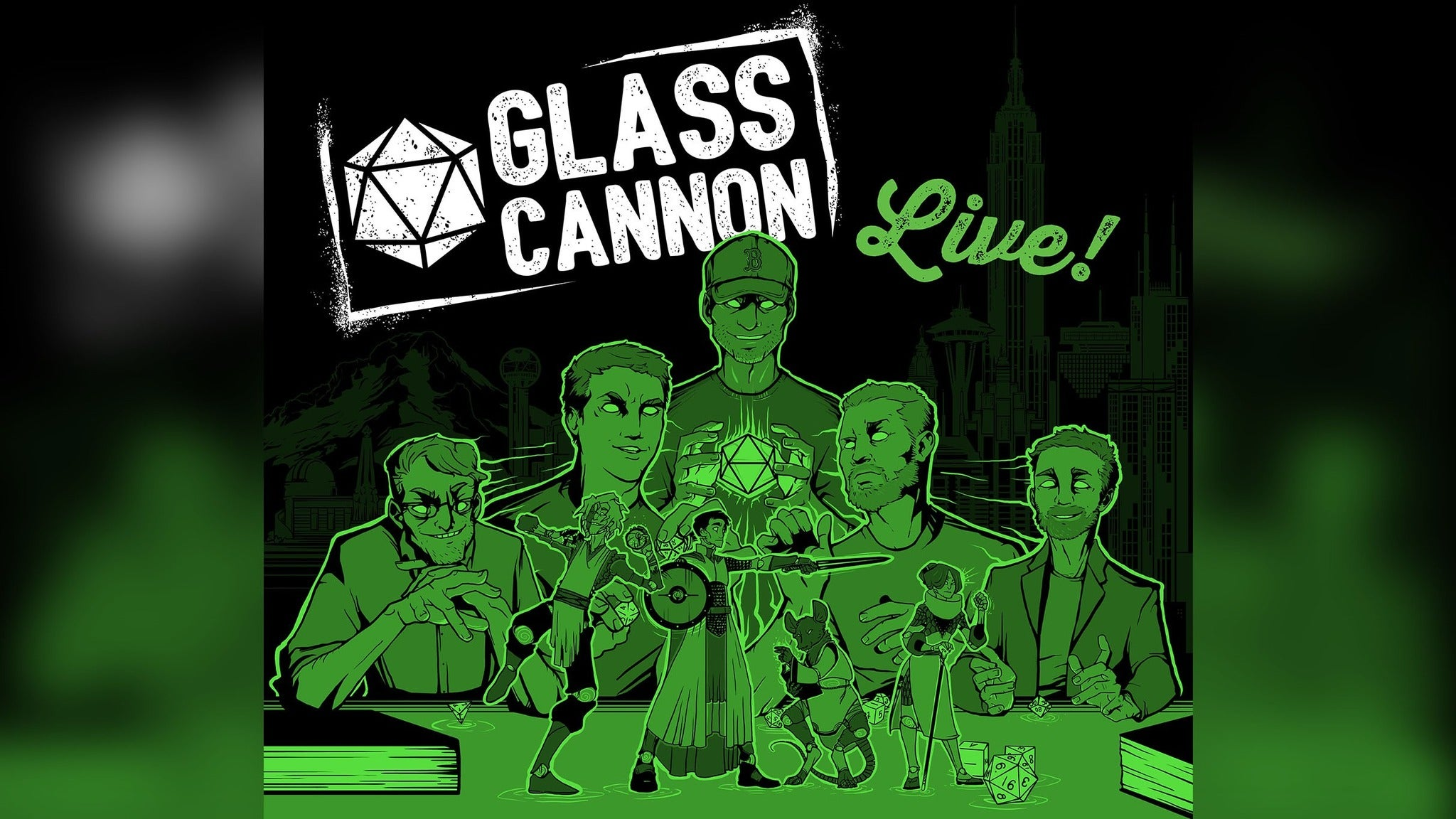 Glass Cannon Live!