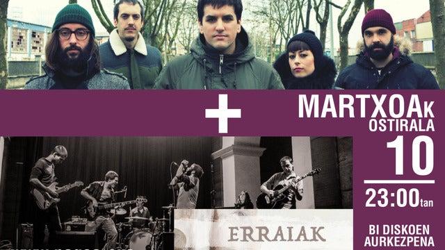 Izaki Gardenak + Erraiak