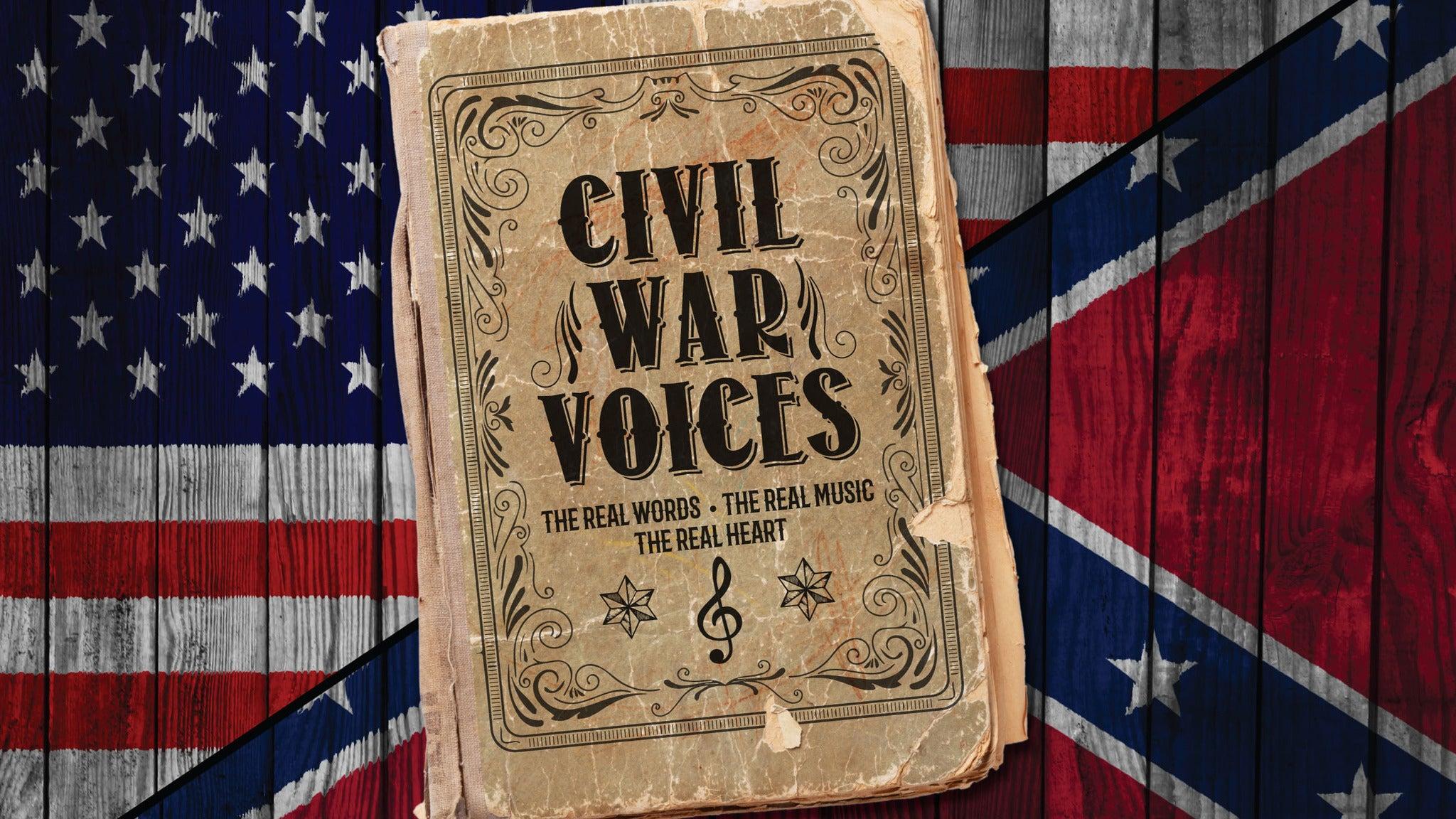 Walnut Street Theatre's Civil War Voices