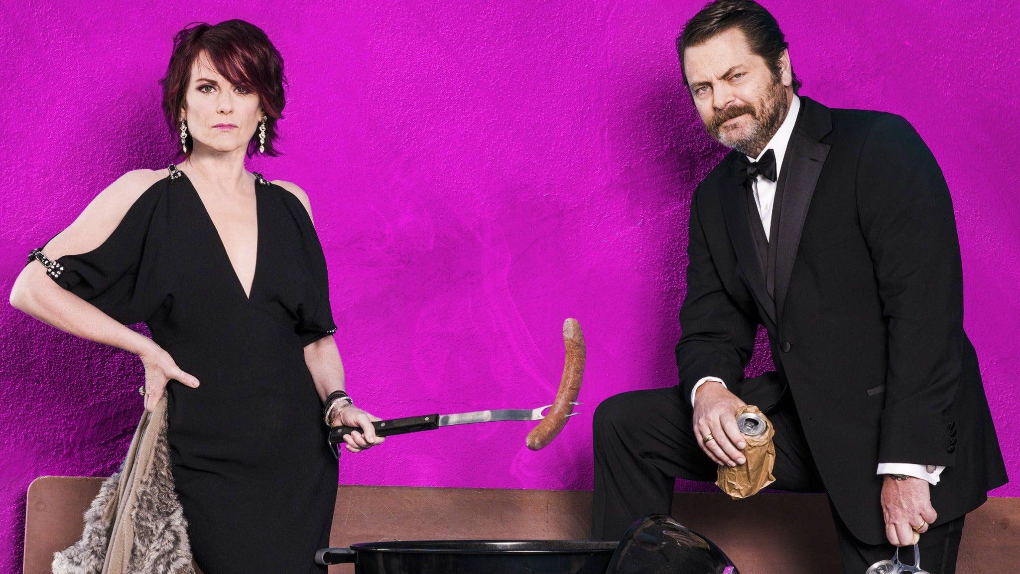 Nick Offerman & Megan Mullally