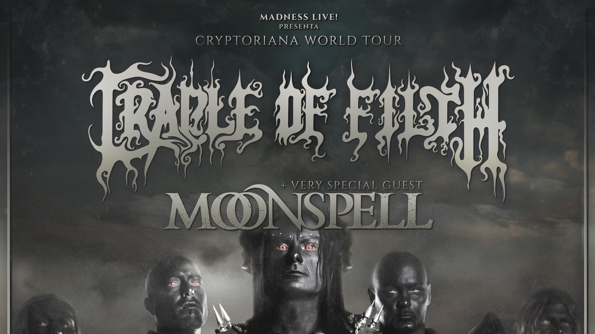 CRADLE OF FILTH: CRYPTORIANA WORLD TOUR at Revolution Live