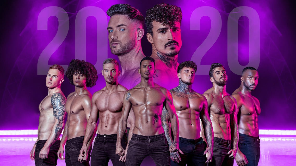 Dreamboys 2020 - Too Hard to Resist Event Title Pic