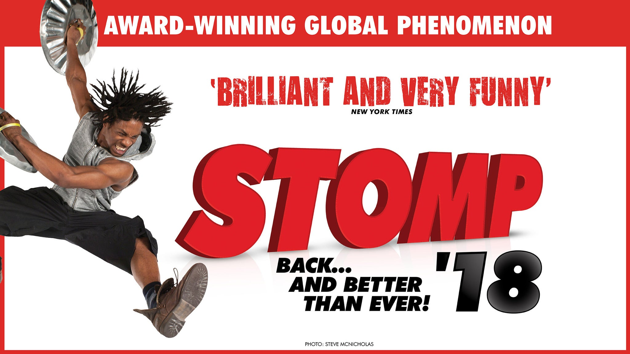 Stomp at Redding Civic Auditorium