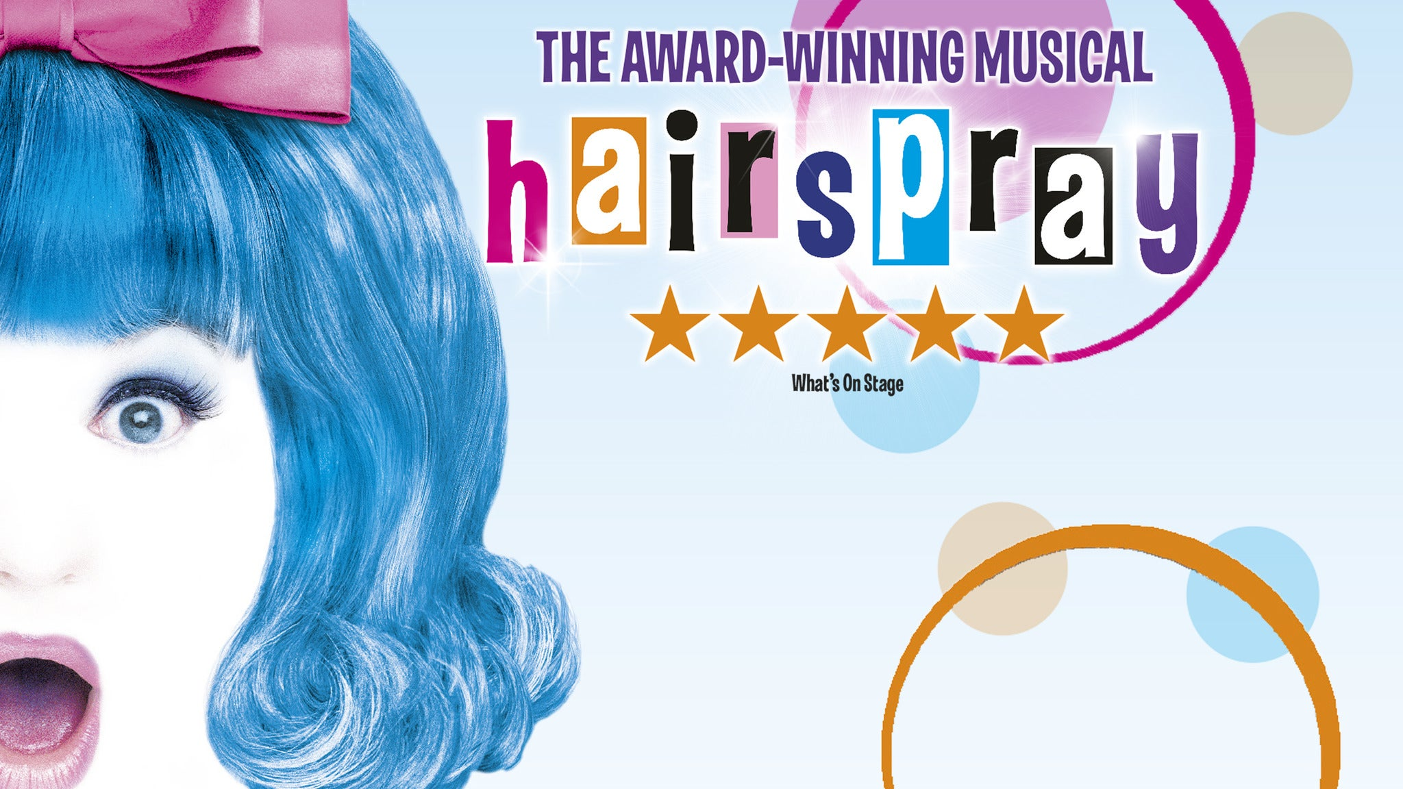 Hairspray the Musical tickets (Copyright © Ticketmaster)