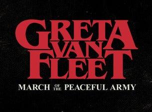Greta Van Fleet: March of the Peaceful Army