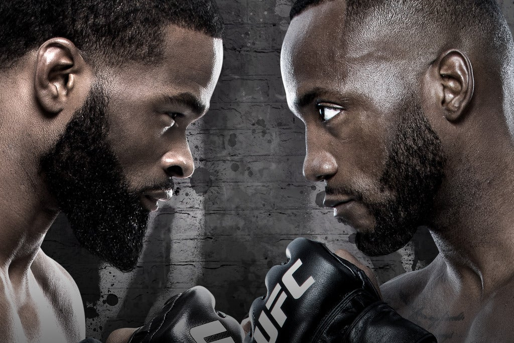 UFC FIGHT NIGHT: Woodley vs. Edwards Seating Plans