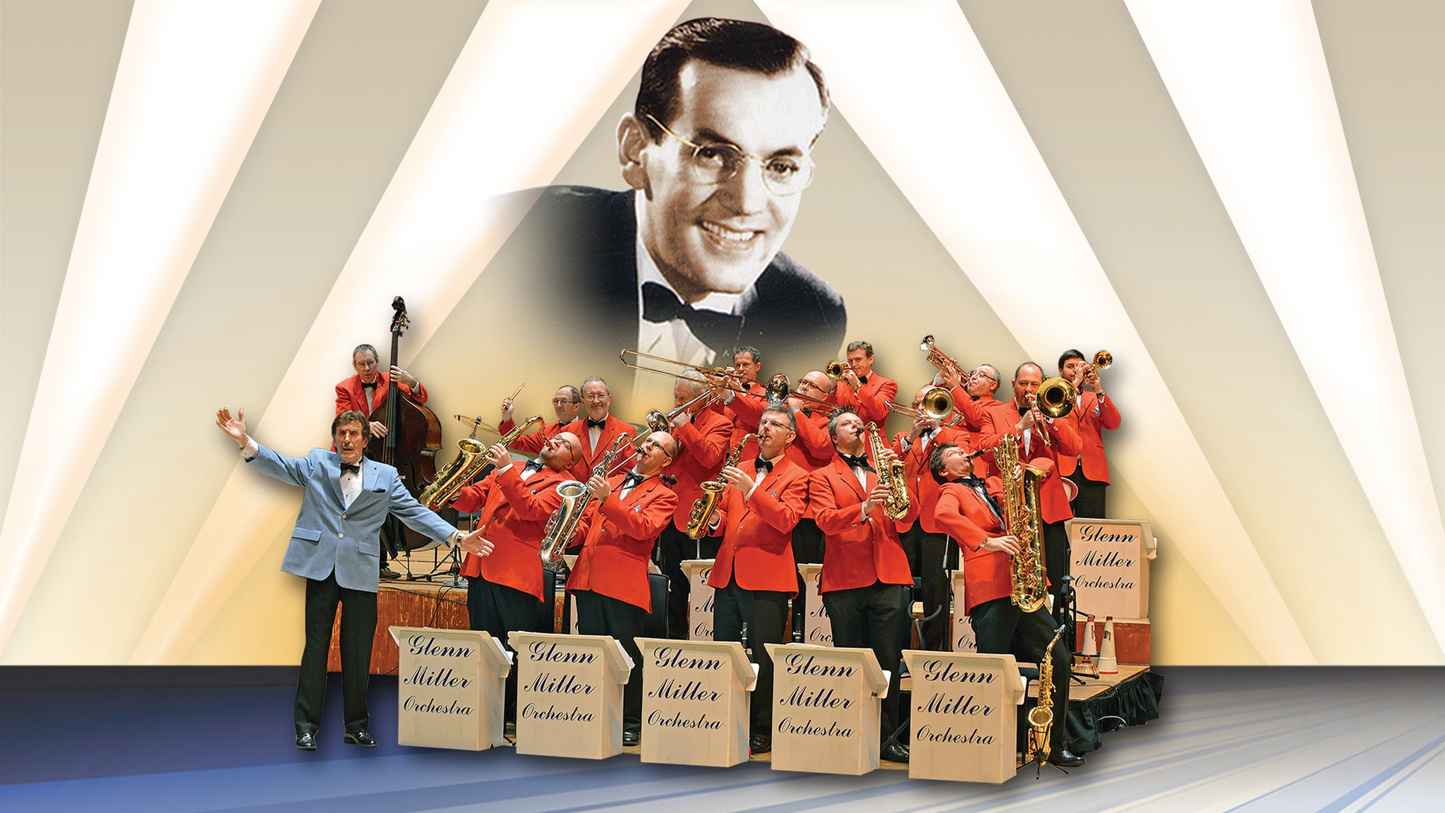 Glenn Miller Orchestra Seating Plans