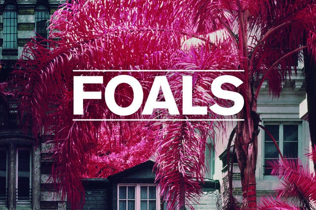 Foals tickets (Copyright © Ticketmaster)