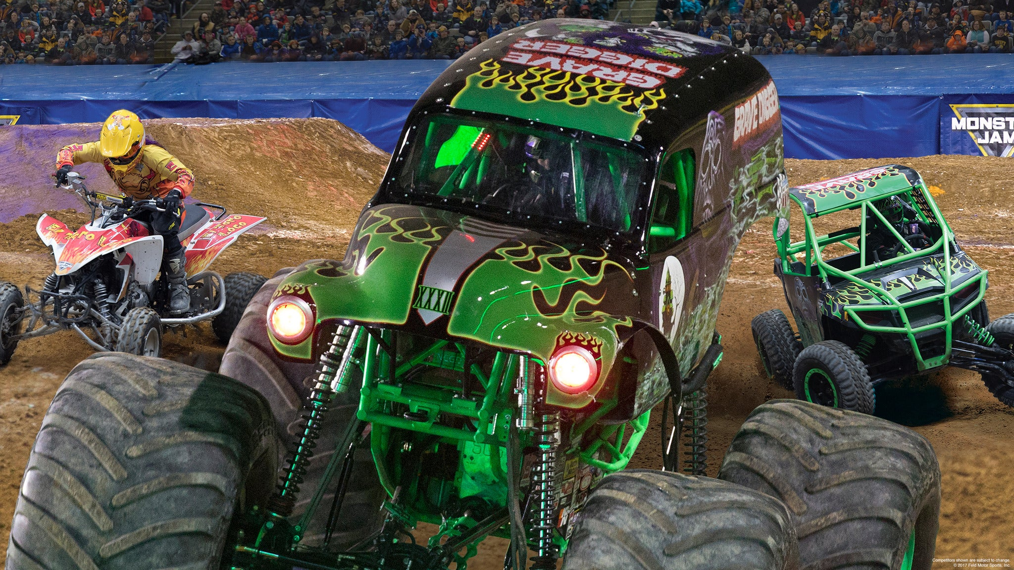 Monster Jam Triple Threat Series at Van Andel Arena
