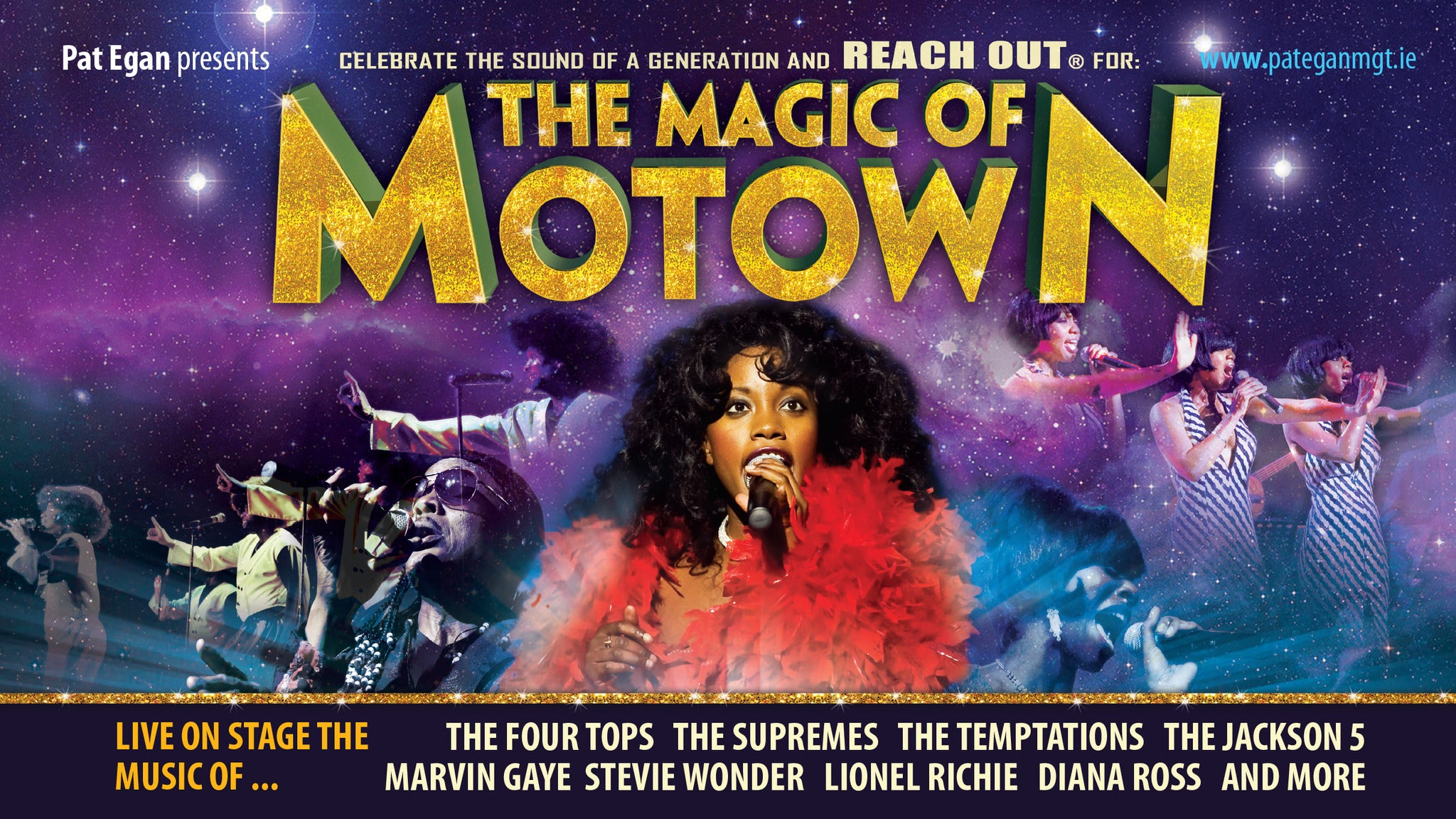 The Magic of Motown tickets | Copyright © Ticketmaster