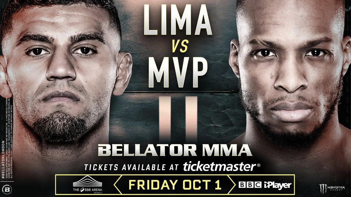 BELLATOR 267: Lima v MVP 2 SSE Arena Wembley Seating Plan