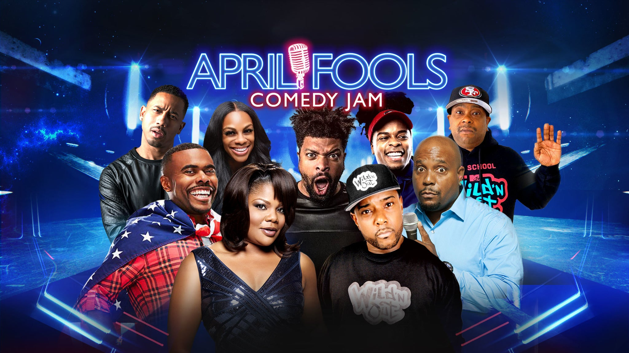 April Fools Comedy Jam Brooklyn at Barclays Center