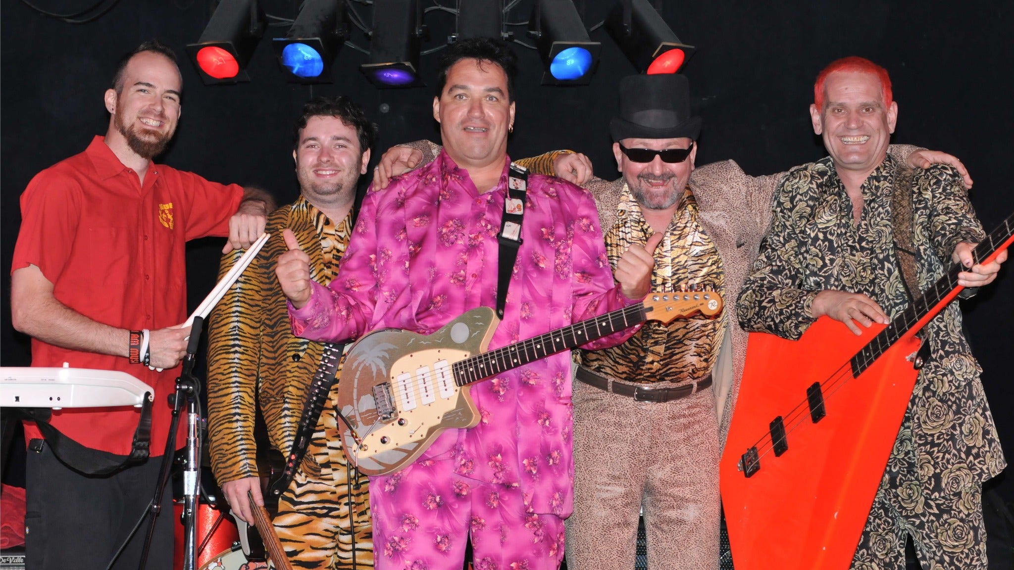 Igor and Red Elvises at Tip Top Deluxe Bar & Grill