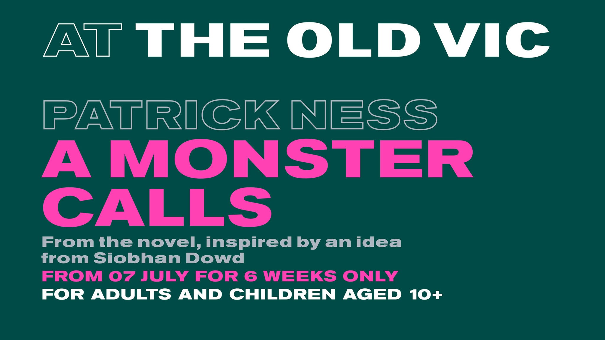 A Monster Calls Event Title Pic