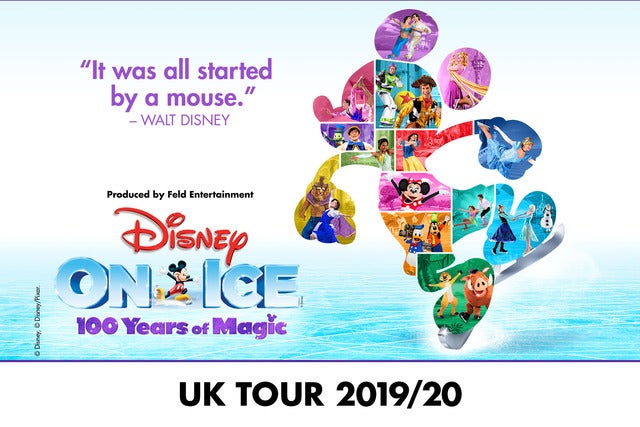 Disney on Ice Celebrates 100 Years of Magic - Partner Offer Metro Radio Arena Seating Plan