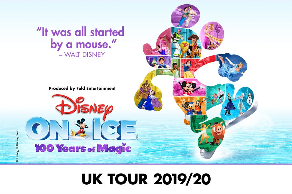 Disney On Ice celebrates 100 Years of Magic Arena Birmingham Seating Plan