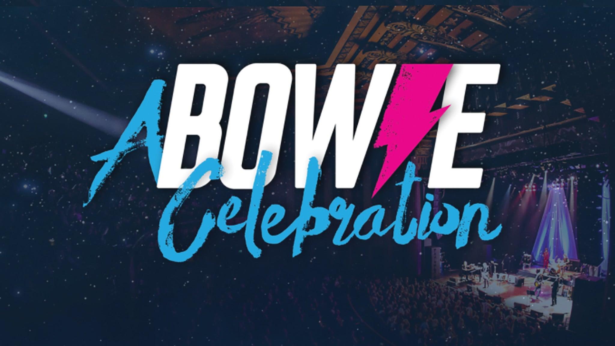 foto ticket A Bowie Celebration: The David Bowie Alumni Tour