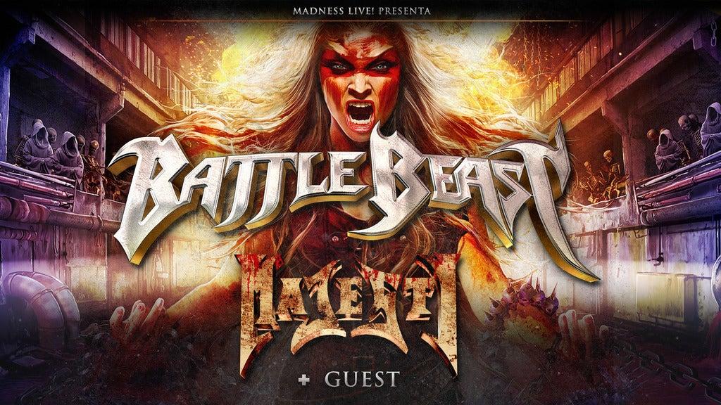 Hotels near Battle Beast Events