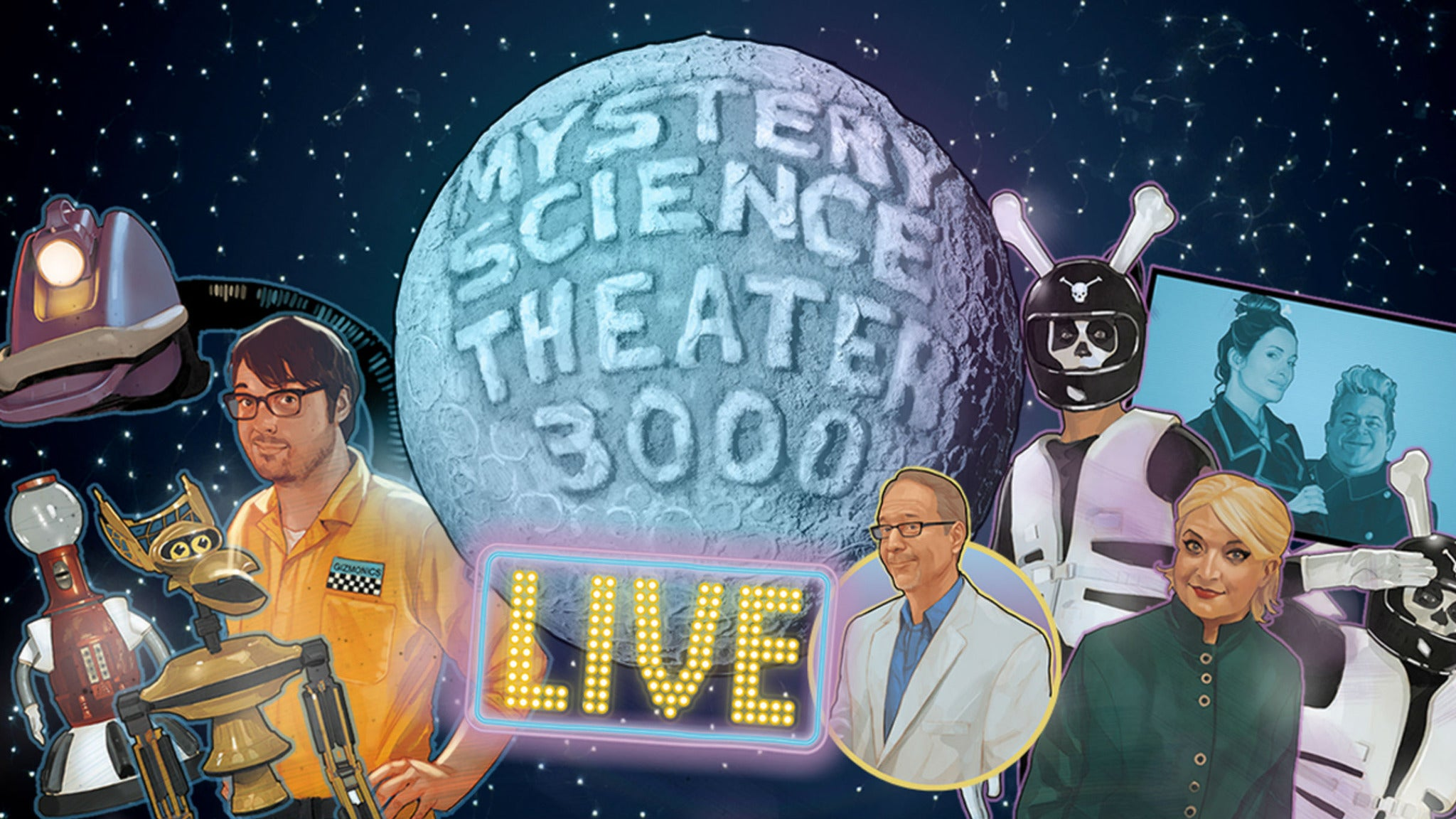 Image result for mystery science theater 3000 live